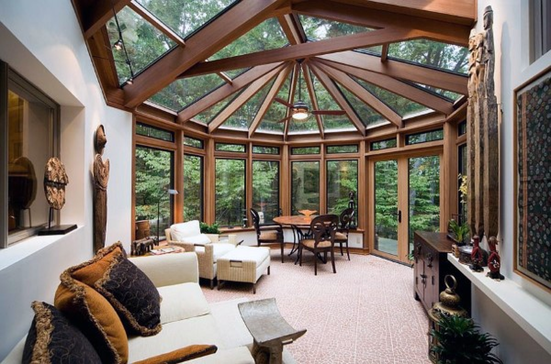 Gorgeous Modern Sunroom Design Ideas To Relax In The Summer 26