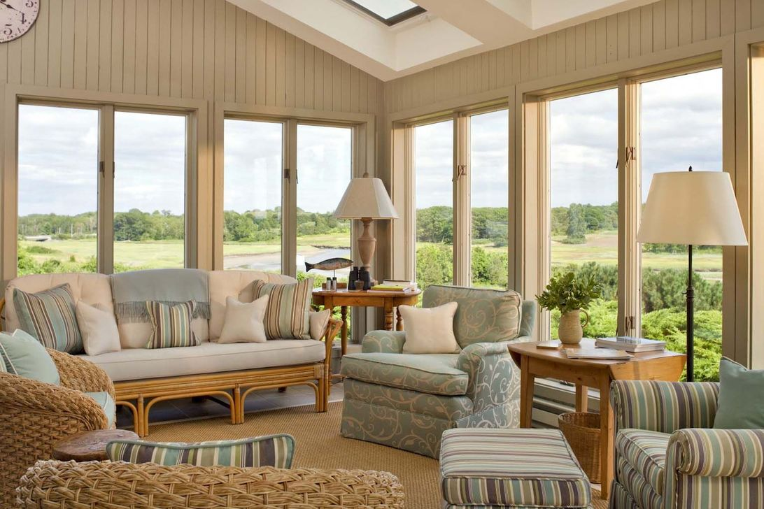 Gorgeous Modern Sunroom Design Ideas To Relax In The Summer 27