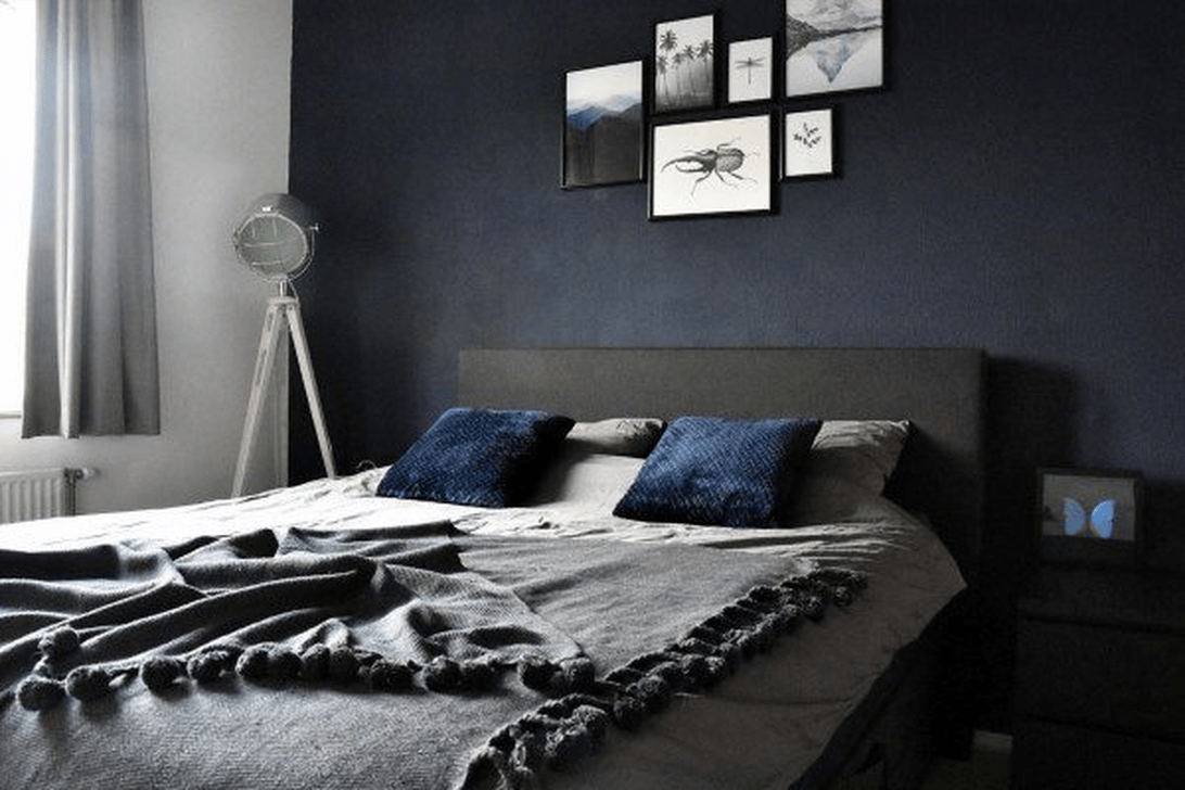 Inspiring Navy Blue Bedroom Decor Ideas You Should Copy 16
