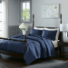 Inspiring Navy Blue Bedroom Decor Ideas You Should Copy 35