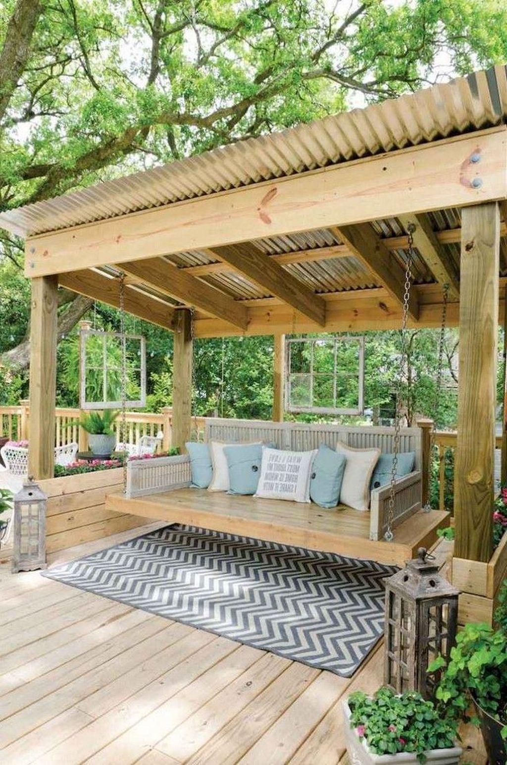 Inspiring Pergola Patio Design Ideas For Your Backyard Decor 19