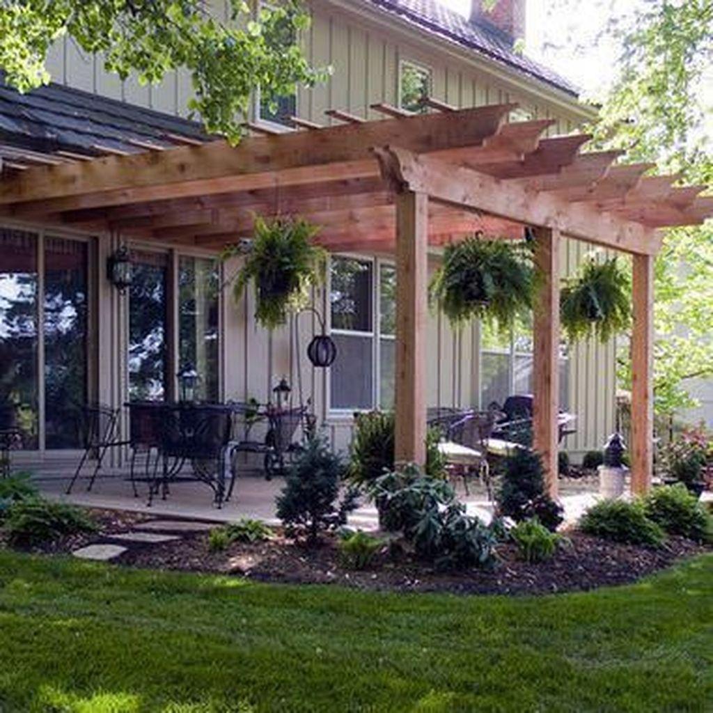 Inspiring Pergola Patio Design Ideas For Your Backyard Decor 33