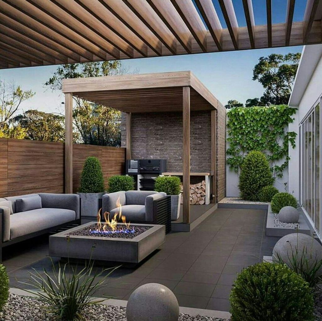 Inspiring Pergola Patio Design Ideas For Your Backyard Decor 34