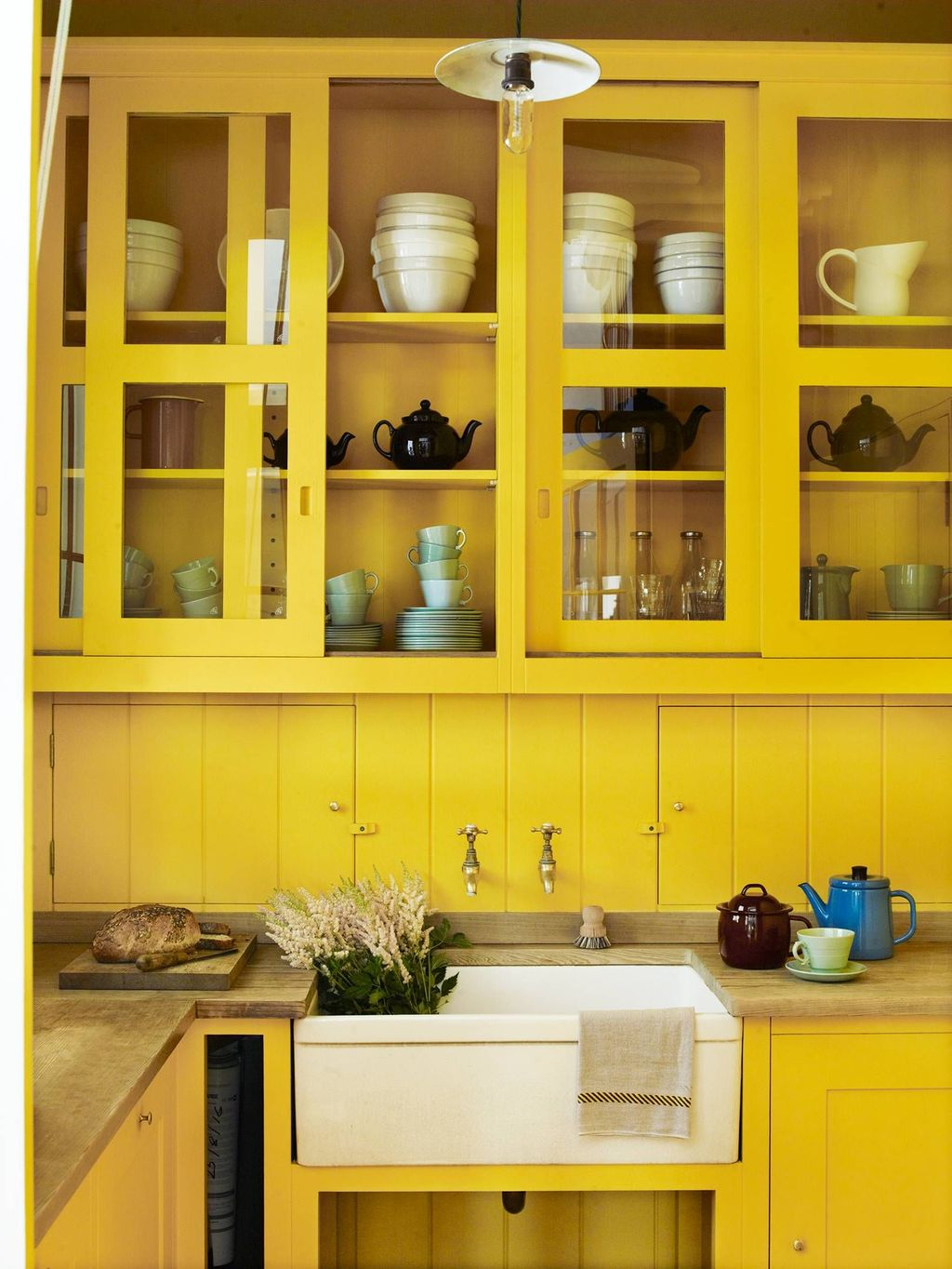 Nice Yellow Kitchen Decor Ideas For This Summer 13