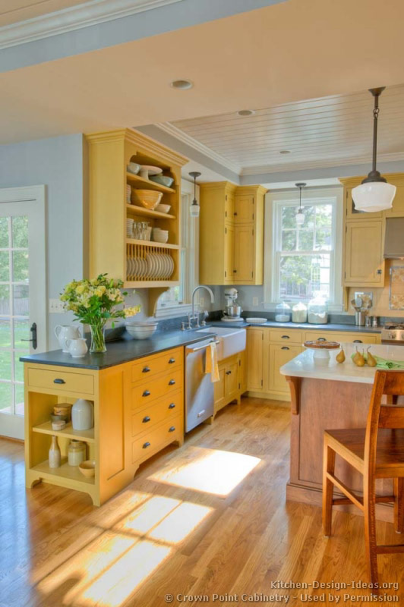 Nice Yellow Kitchen Decor Ideas For This Summer 16