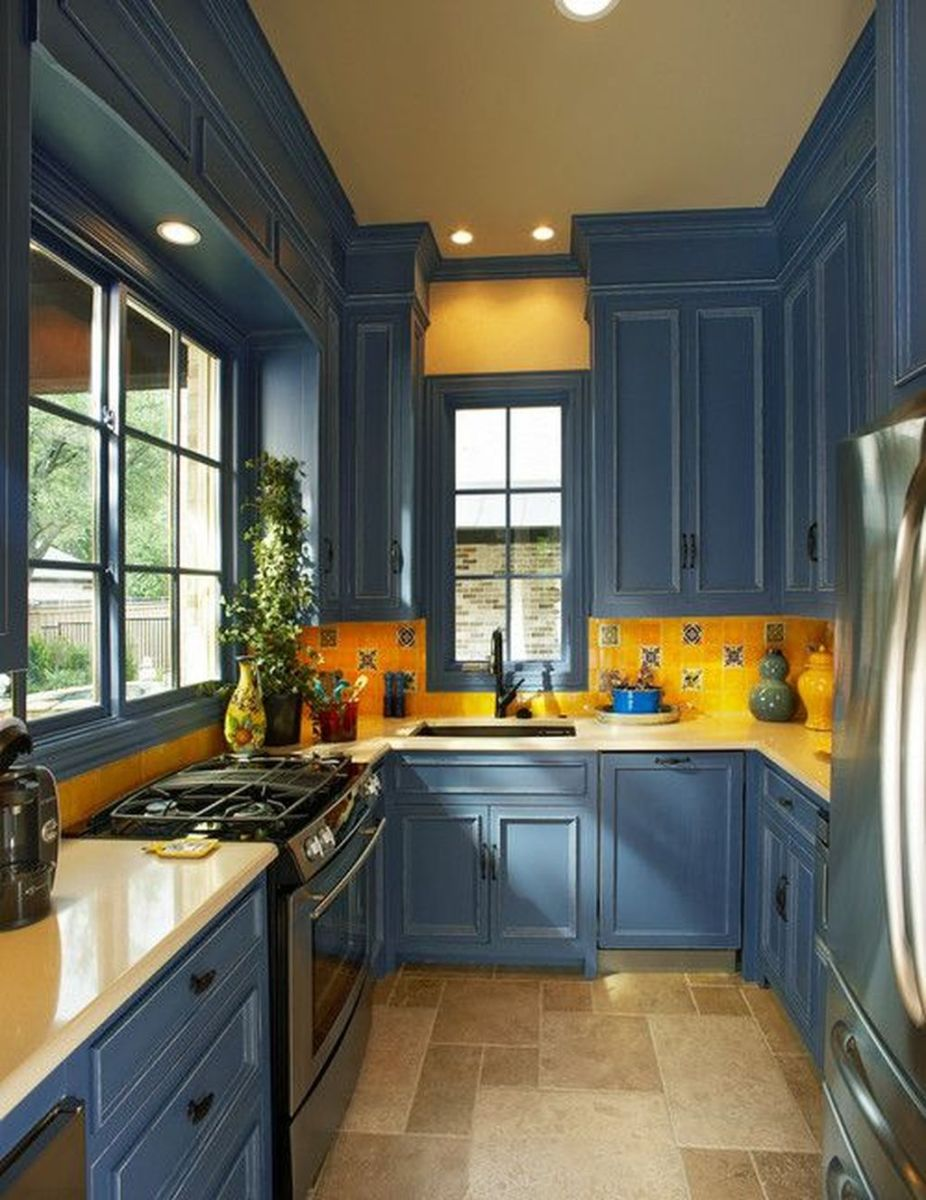 Nice Yellow Kitchen Decor Ideas For This Summer 18