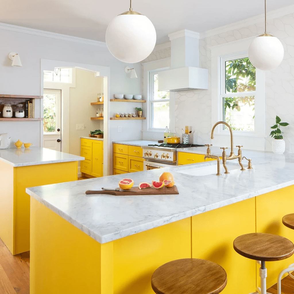Nice Yellow Kitchen Decor Ideas For This Summer 23