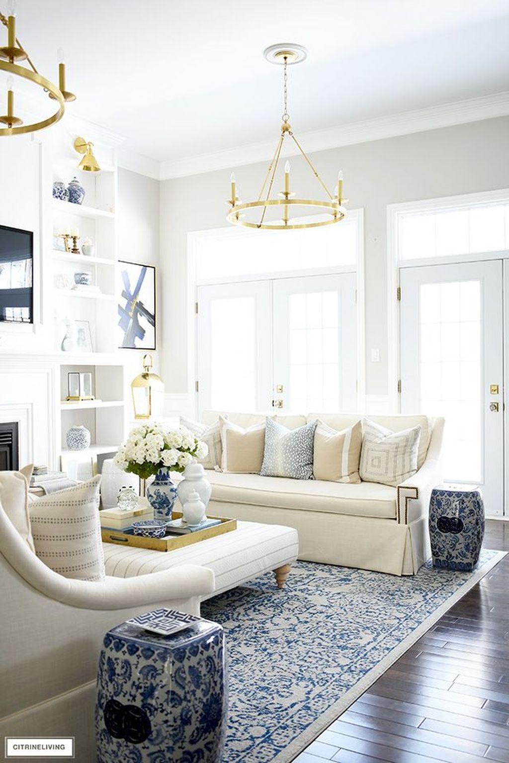 Popular Spring Living Room Decor Ideas 11