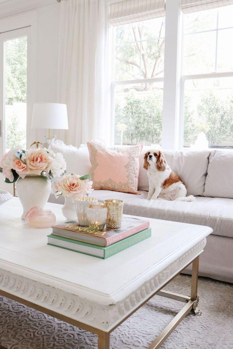 Popular Spring Living Room Decor Ideas 13