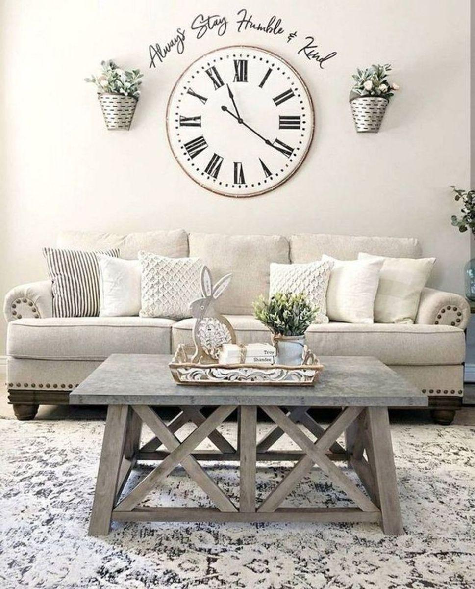 Popular Spring Living Room Decor Ideas 14