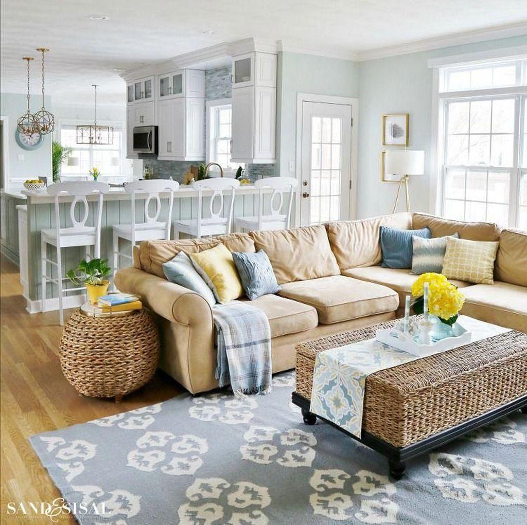 Popular Spring Living Room Decor Ideas 30