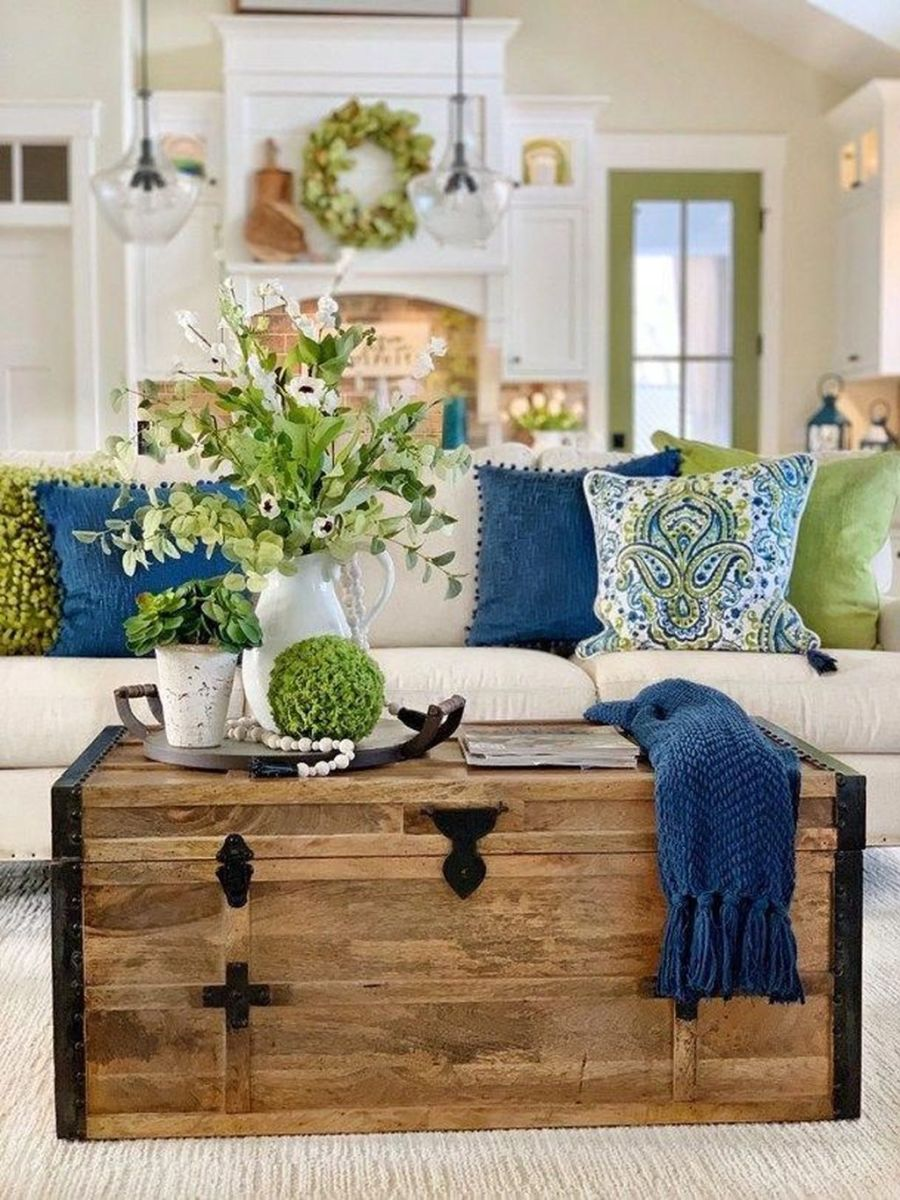 Popular Spring Living Room Decor Ideas 33