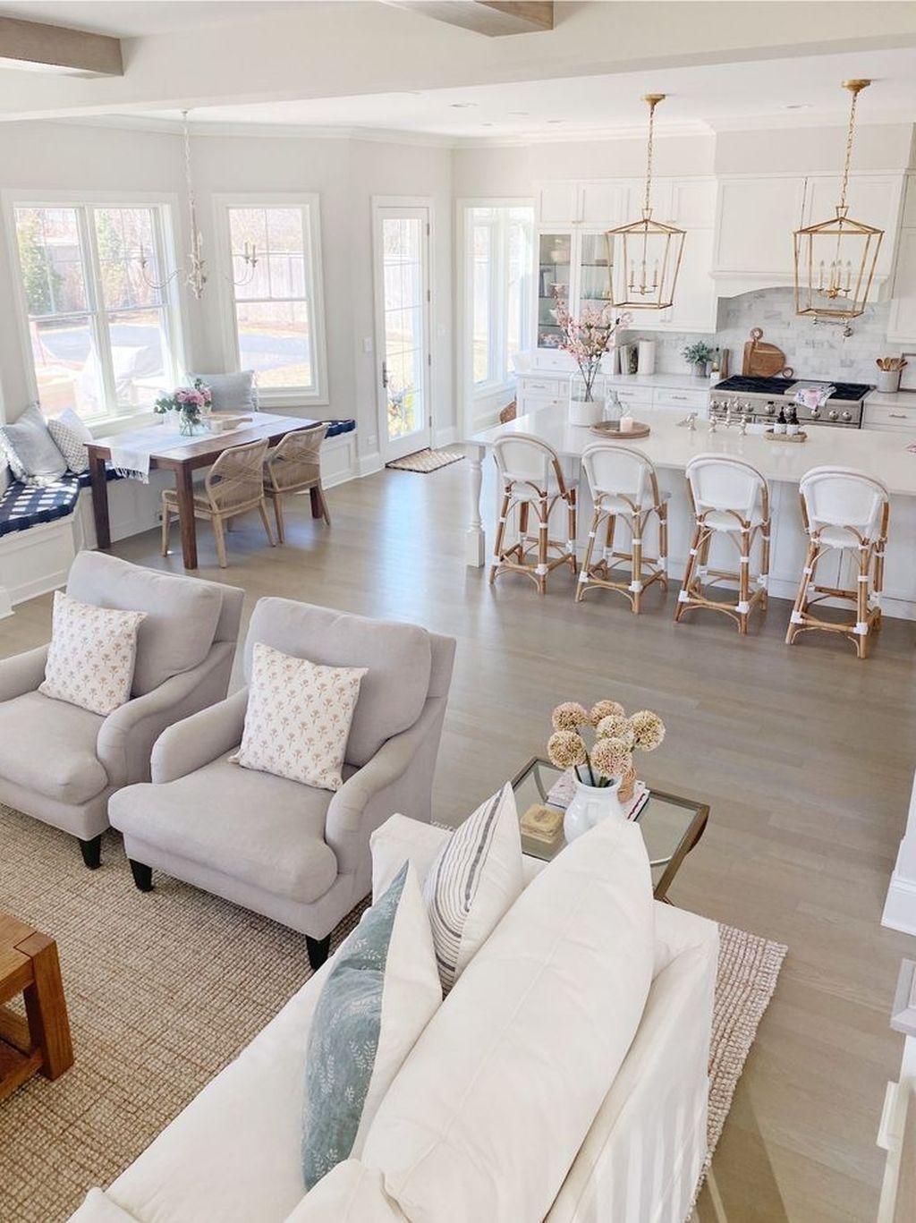 Popular Spring Living Room Decor Ideas 35