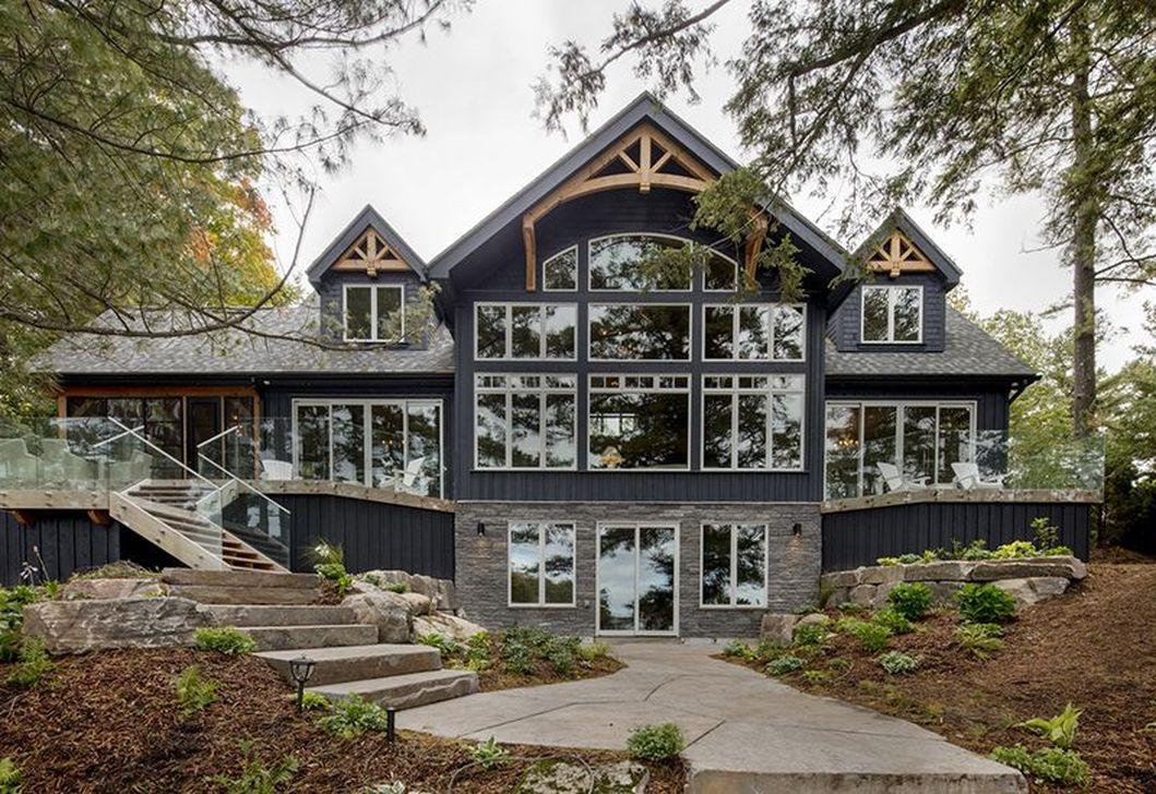 Stunning Summer House Colors Exterior Ideas 27