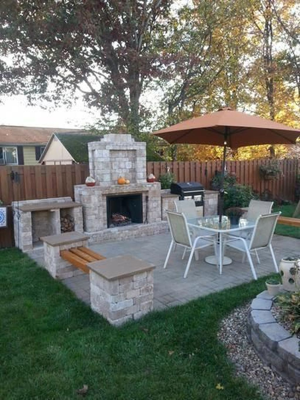 Wonderful Backyard Patio Designs Ideas Perfect For Summertime 30