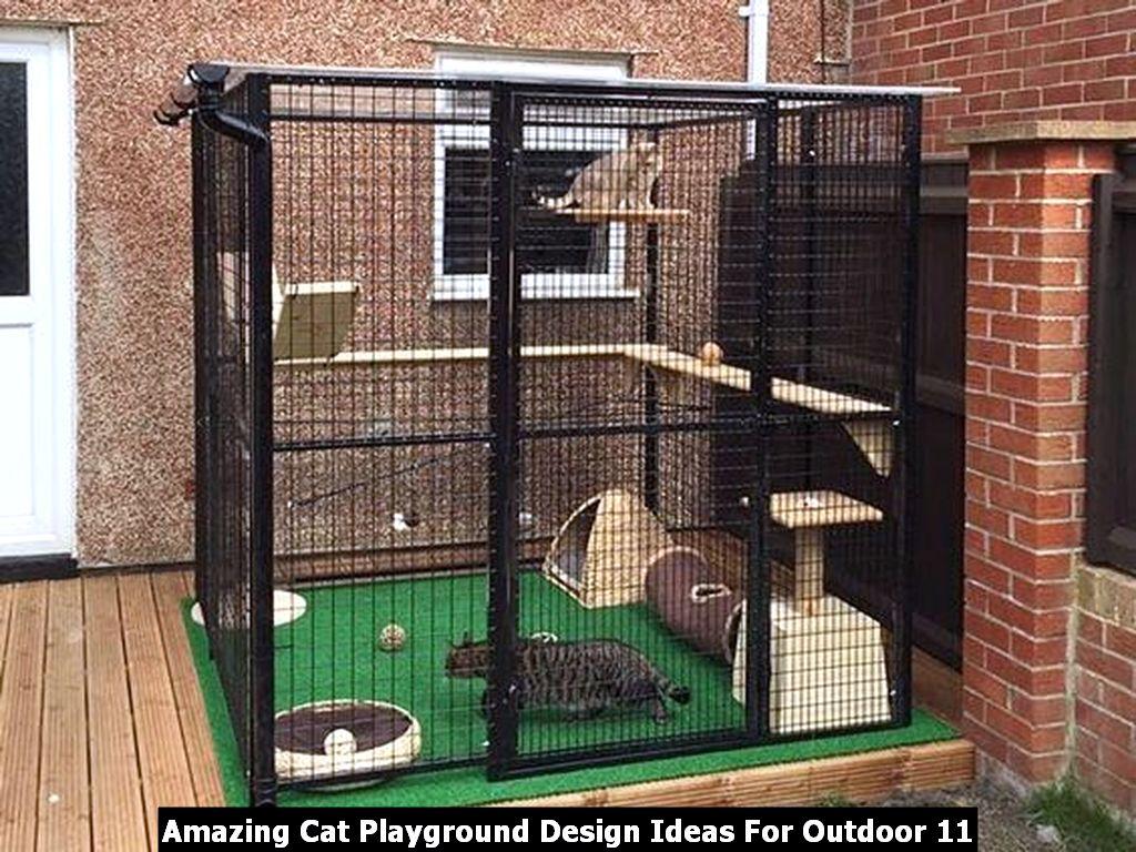 Amazing Cat Playground Design Ideas For Outdoor 11