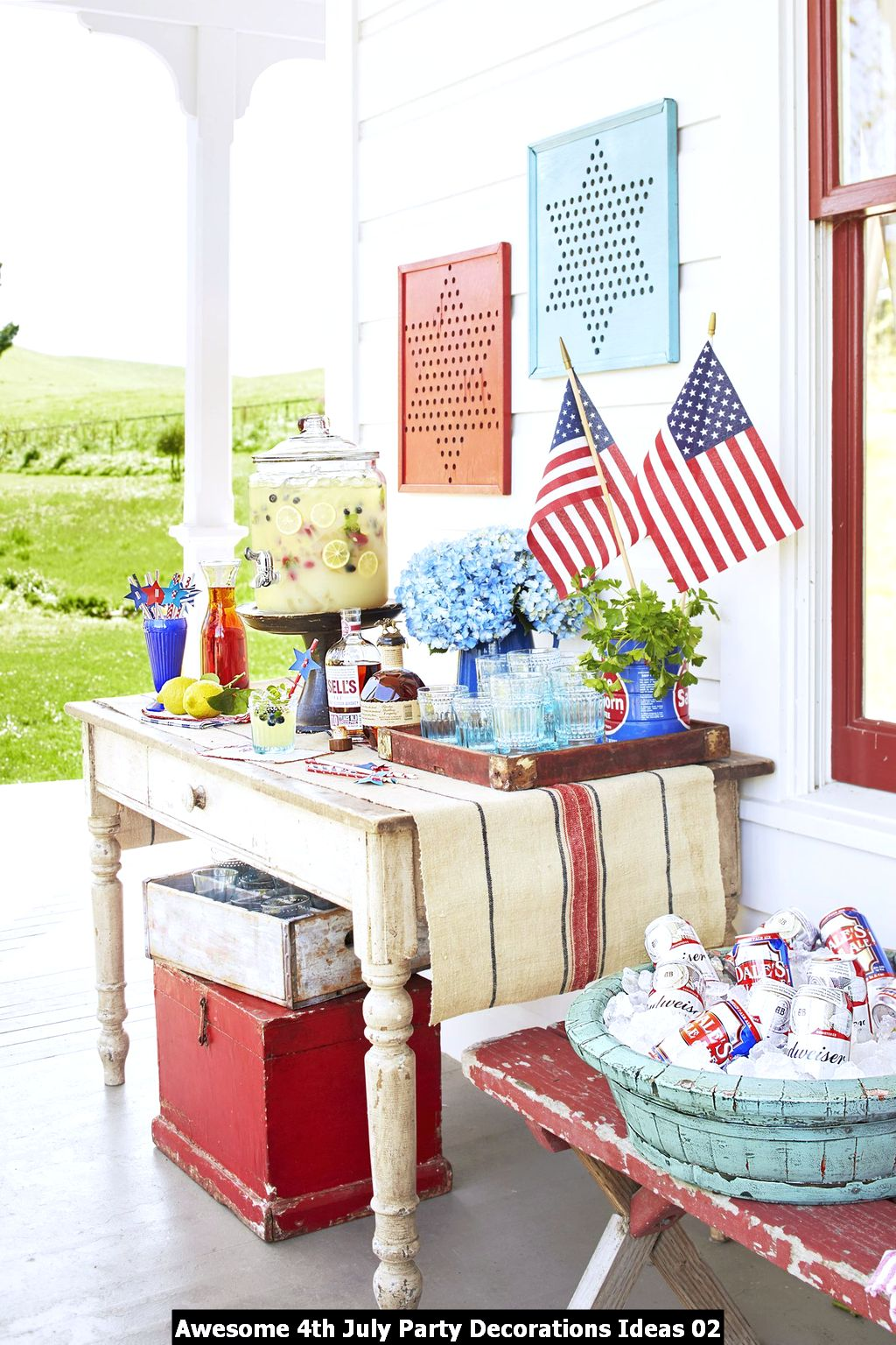 Awesome 4th July Party Decorations Ideas 02