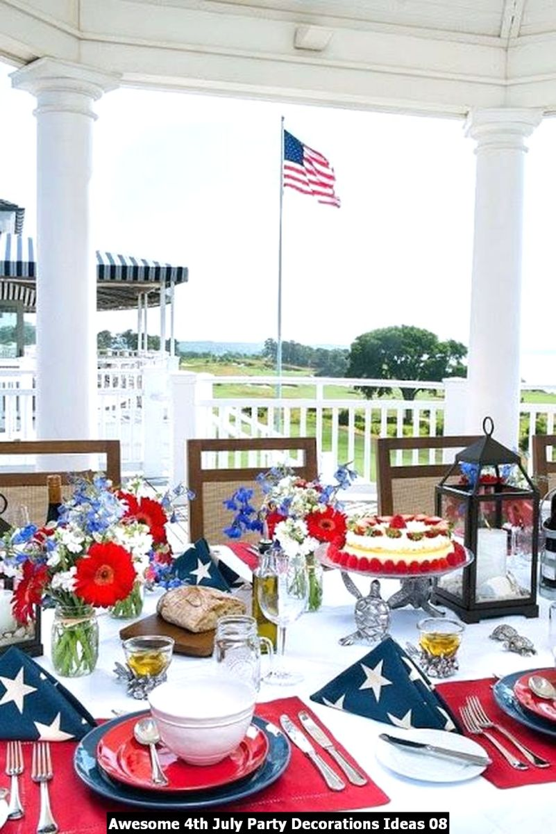 Awesome 4th July Party Decorations Ideas 08