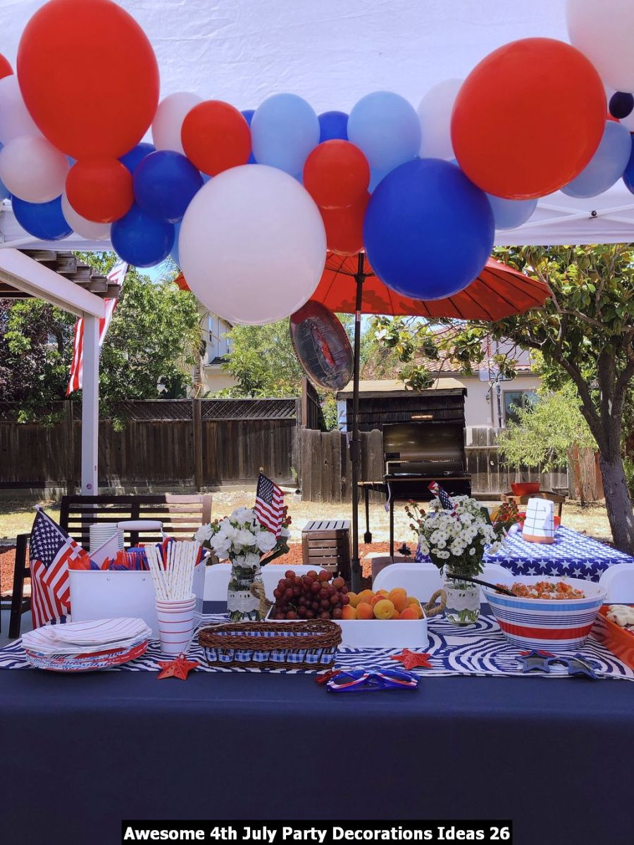 Awesome 4th July Party Decorations Ideas 26