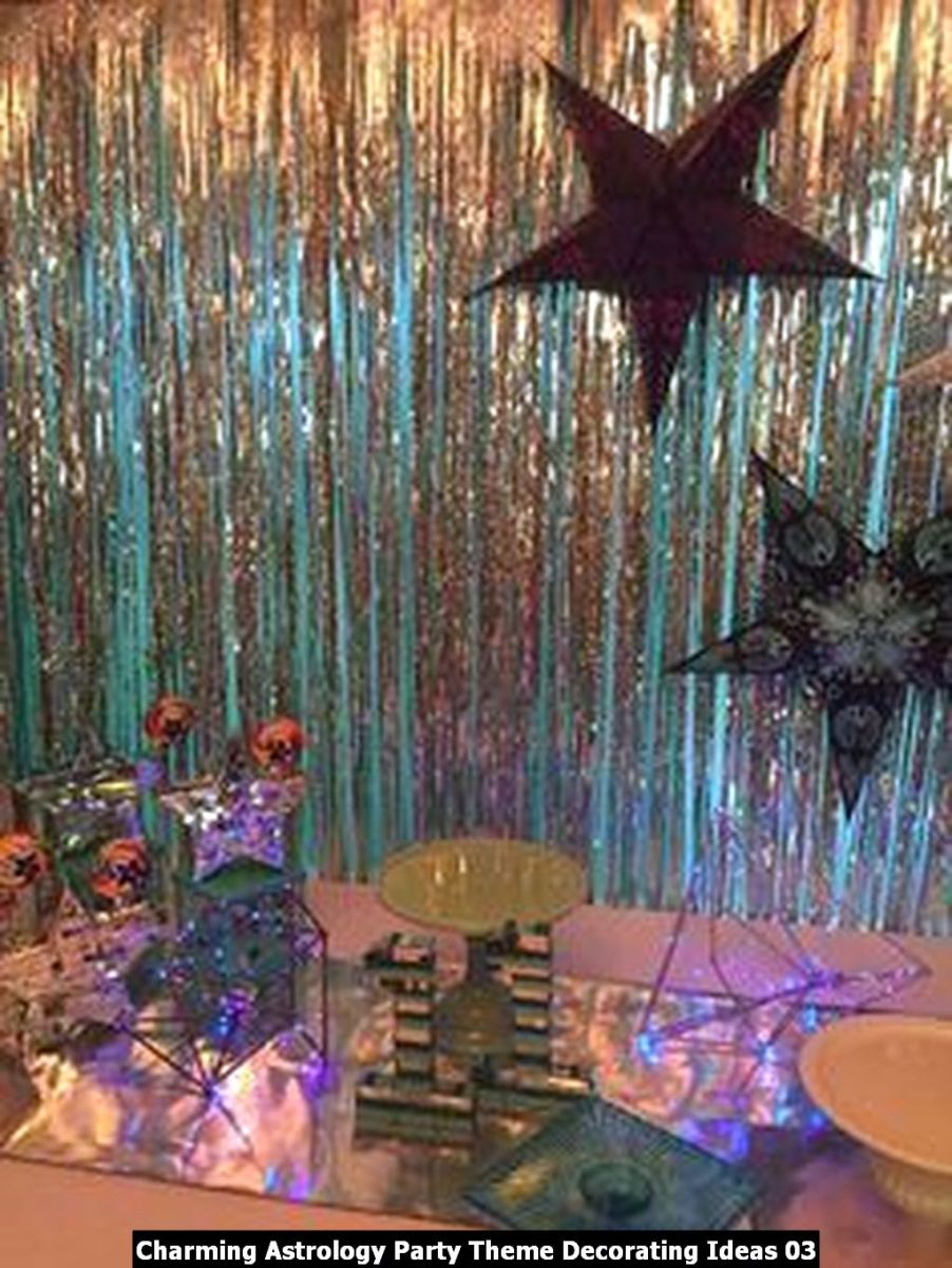 Charming Astrology Party Theme Decorating Ideas 03