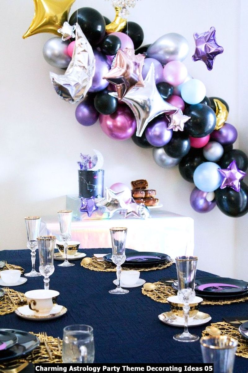 Charming Astrology Party Theme Decorating Ideas 05