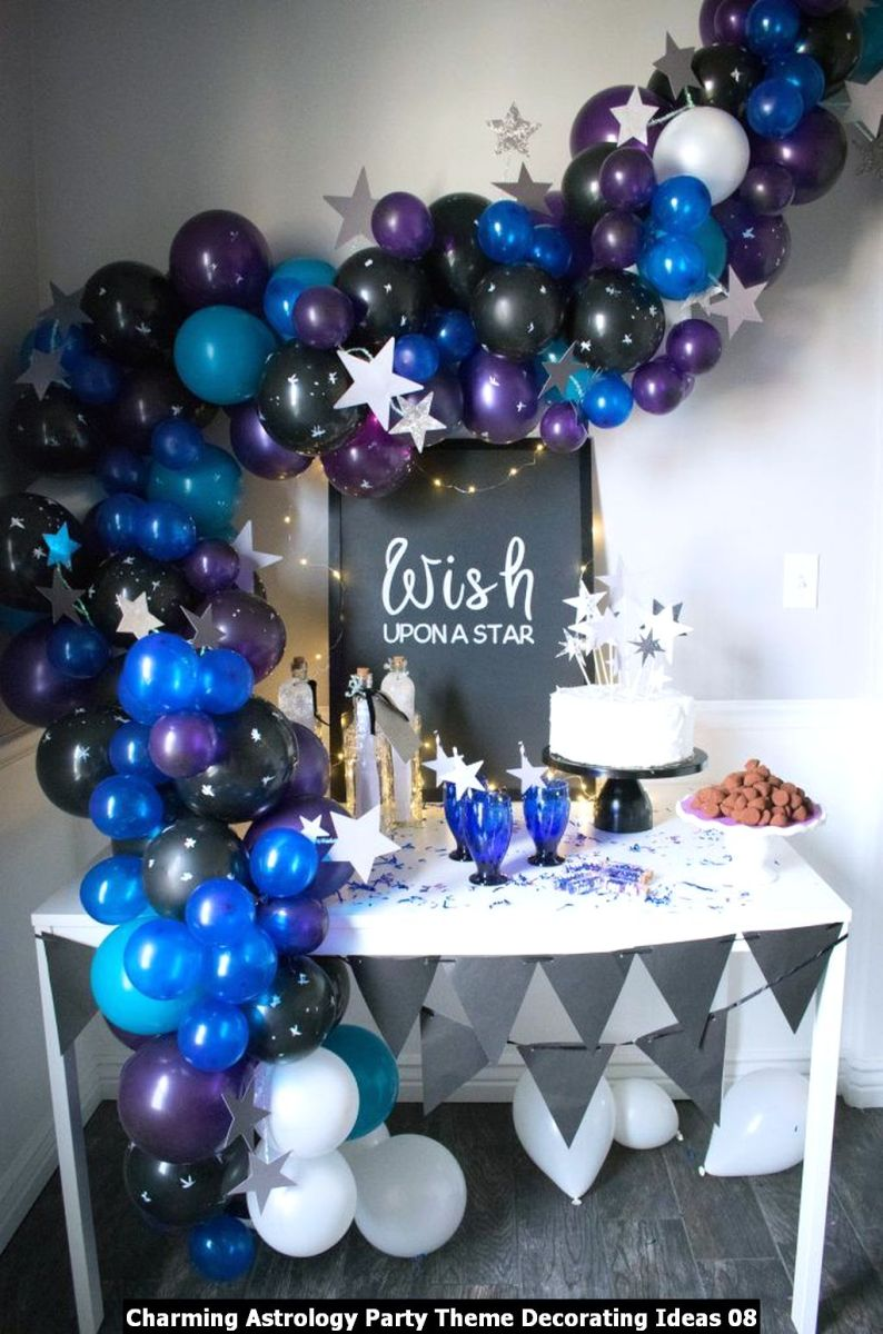 Charming Astrology Party Theme Decorating Ideas 08