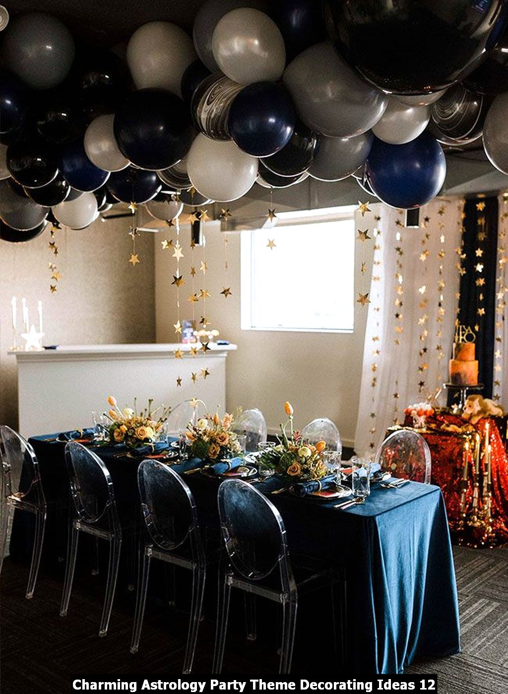 Charming Astrology Party Theme Decorating Ideas 12