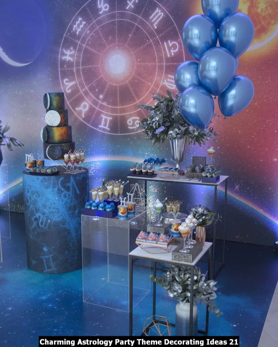 Charming Astrology Party Theme Decorating Ideas 21