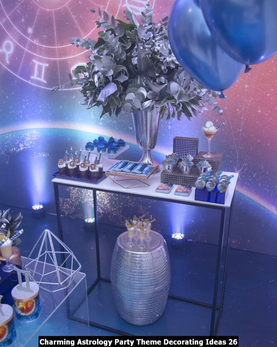 Charming Astrology Party Theme Decorating Ideas 26