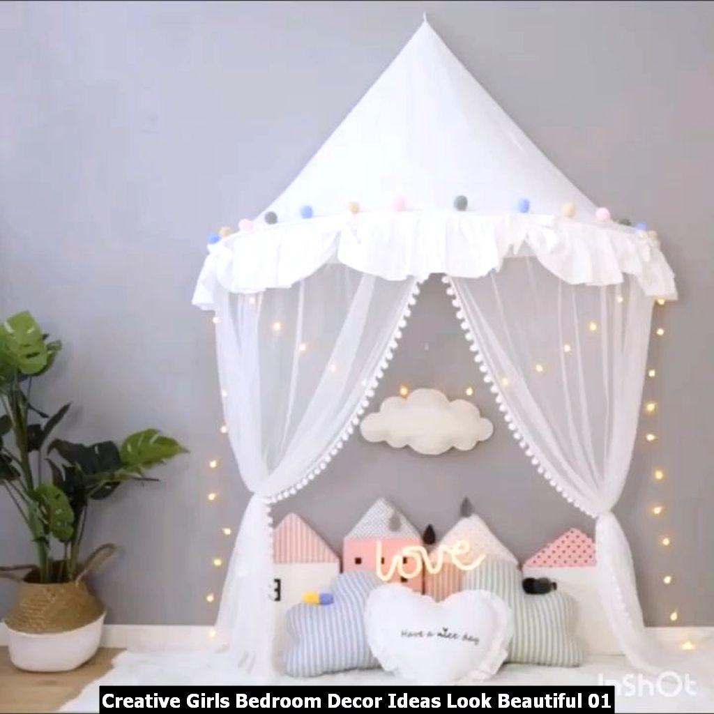 Creative Girls Bedroom Decor Ideas Look Beautiful 01