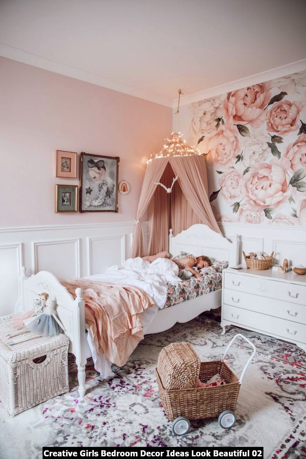 Creative Girls Bedroom Decor Ideas Look Beautiful 02