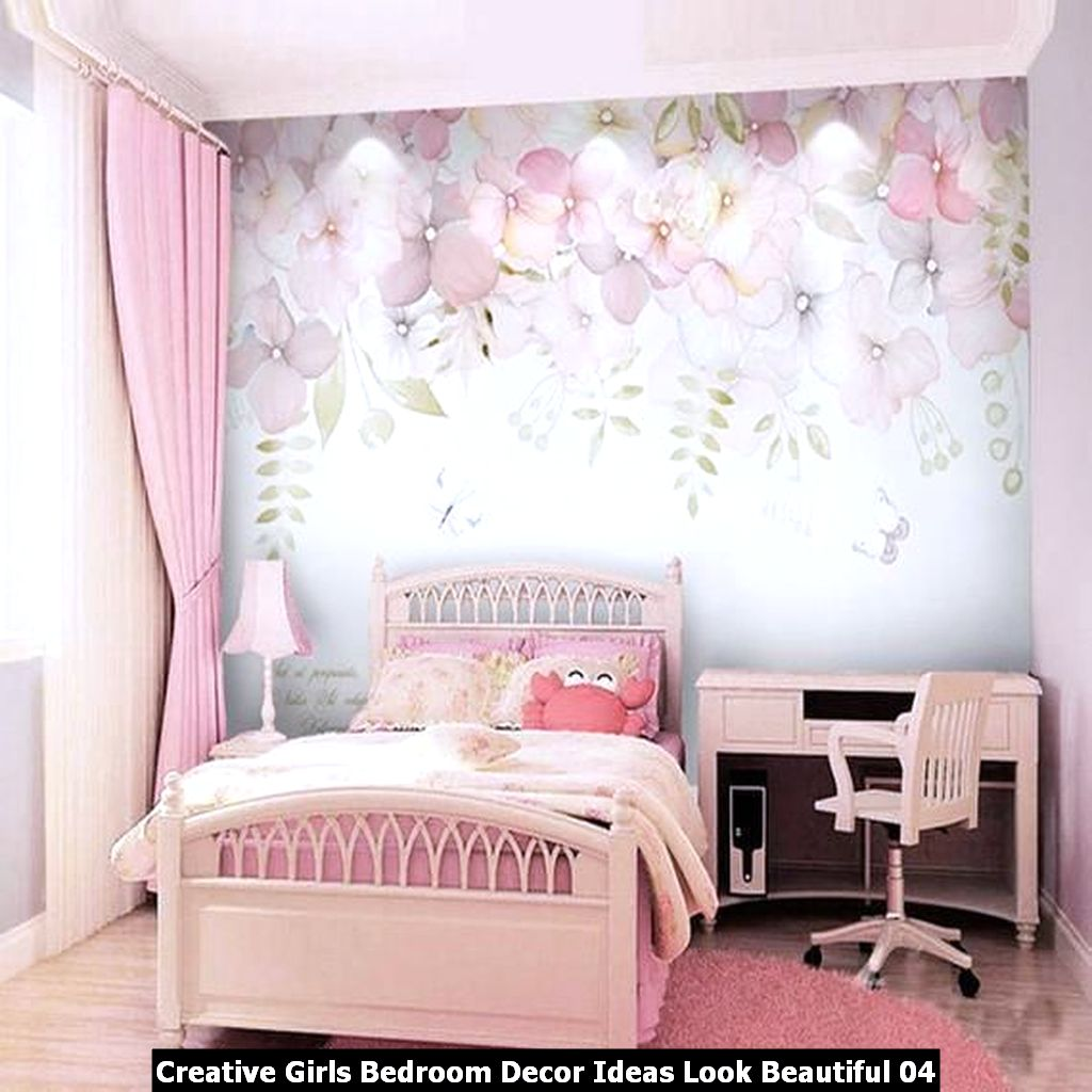 Creative Girls Bedroom Decor Ideas Look Beautiful 04