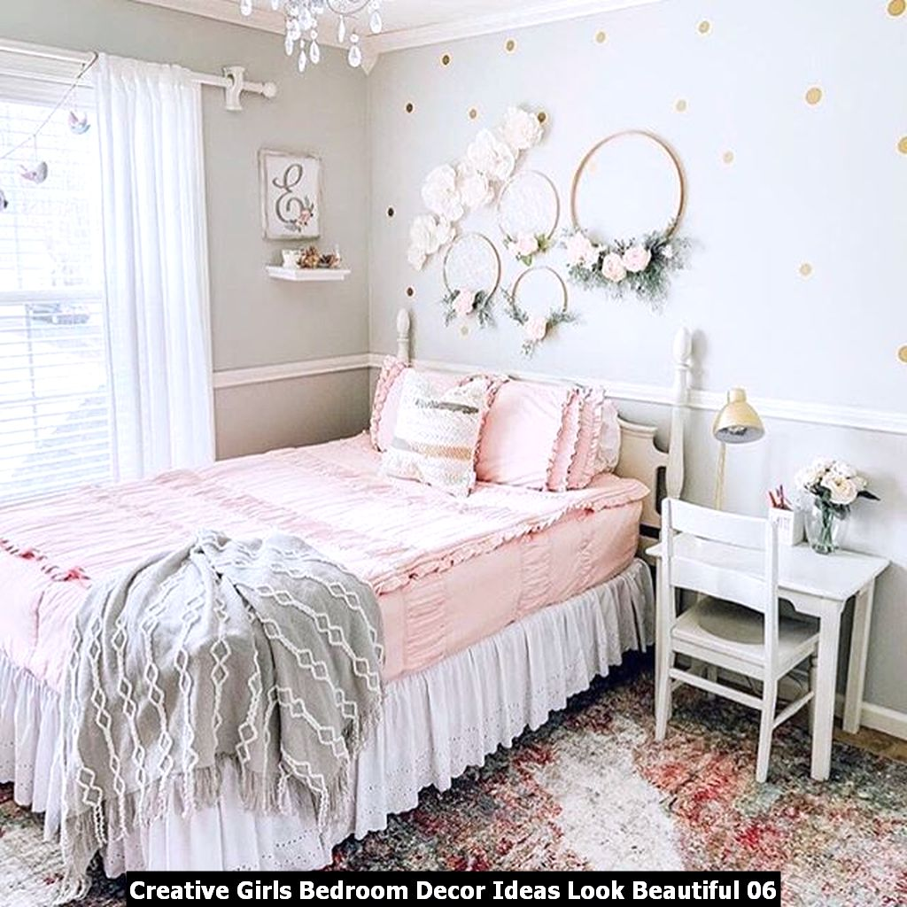 Creative Girls Bedroom Decor Ideas Look Beautiful 06