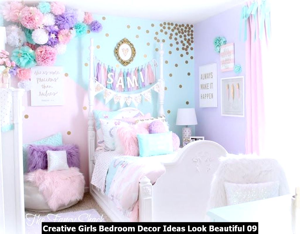 Creative Girls Bedroom Decor Ideas Look Beautiful 09