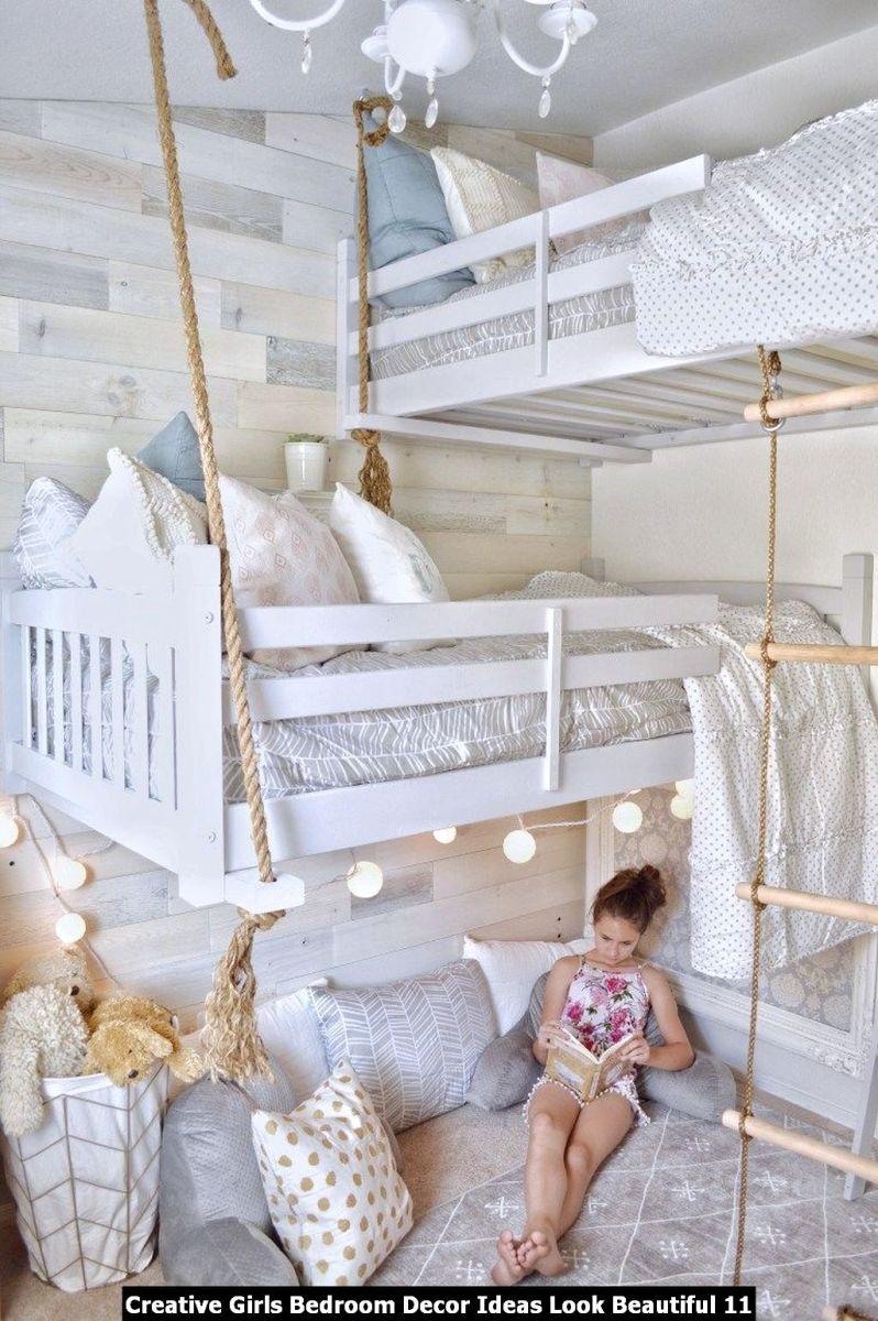 Creative Girls Bedroom Decor Ideas Look Beautiful 11