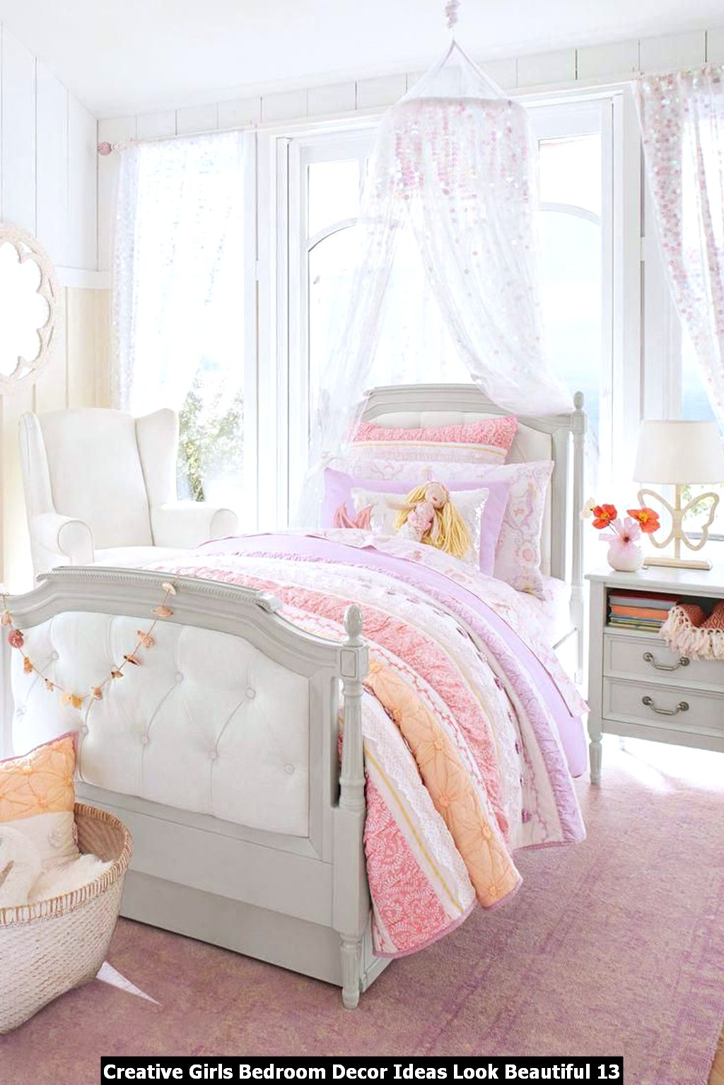 Creative Girls Bedroom Decor Ideas Look Beautiful 13