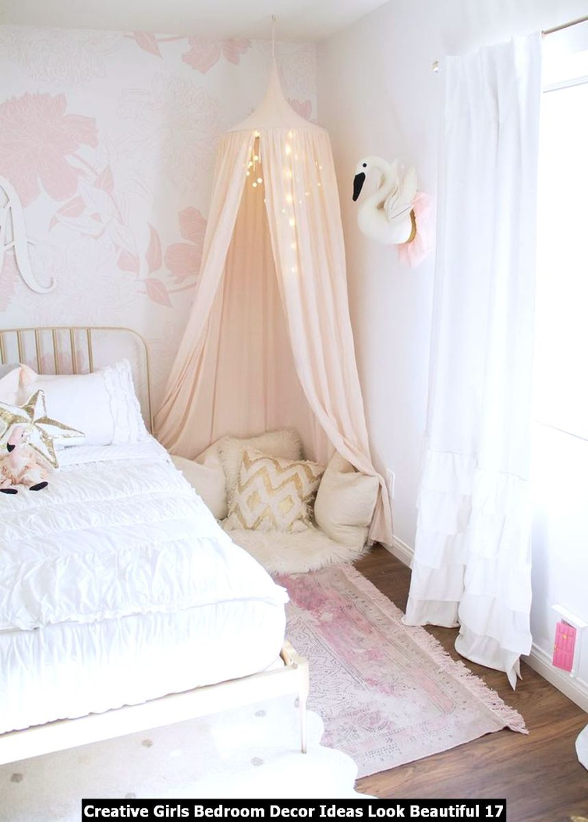 Creative Girls Bedroom Decor Ideas Look Beautiful 17