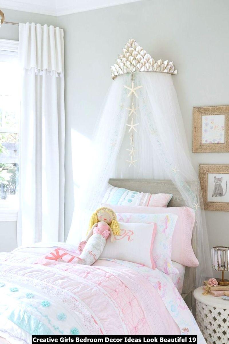 Creative Girls Bedroom Decor Ideas Look Beautiful 19