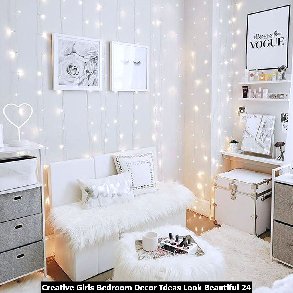Creative Girls Bedroom Decor Ideas Look Beautiful 24