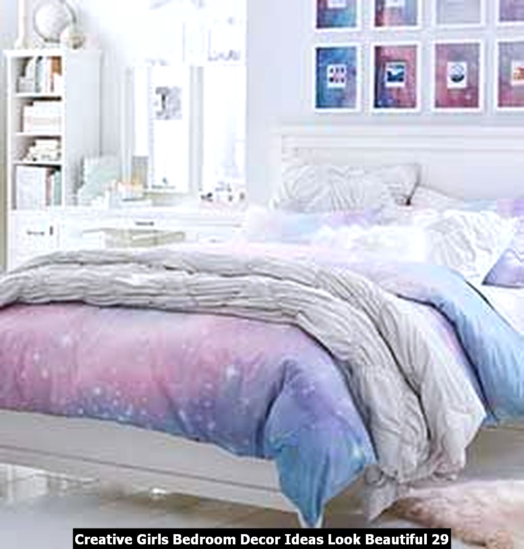 Creative Girls Bedroom Decor Ideas Look Beautiful 29