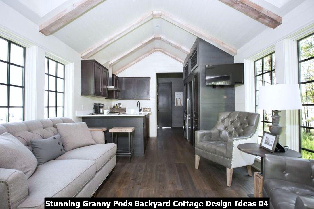 Stunning Granny Pods Backyard Cottage Design Ideas 04