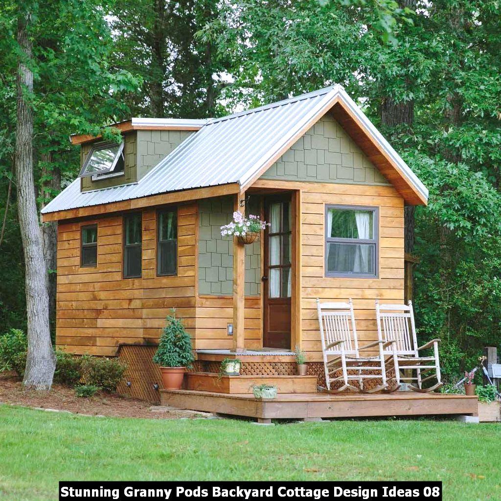 Stunning Granny Pods Backyard Cottage Design Ideas 08