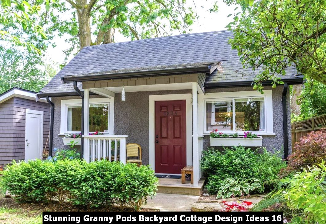 Stunning Granny Pods Backyard Cottage Design Ideas 16