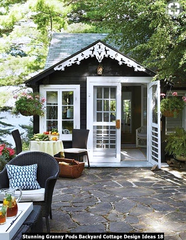 Stunning Granny Pods Backyard Cottage Design Ideas 18