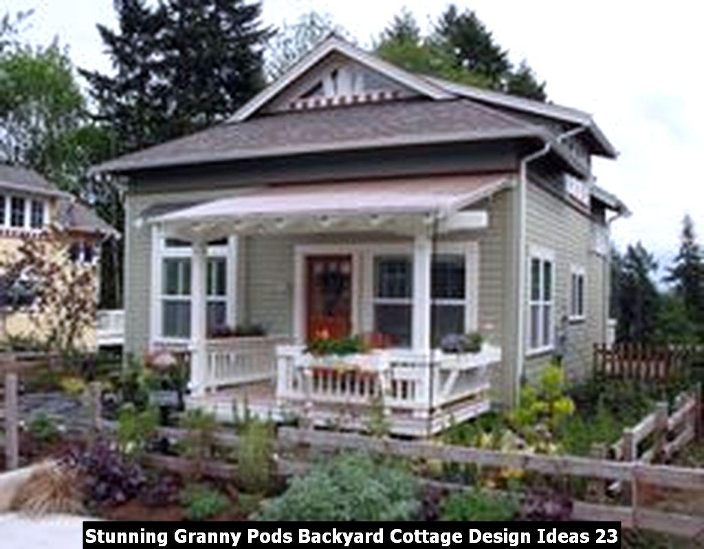 Stunning Granny Pods Backyard Cottage Design Ideas 23