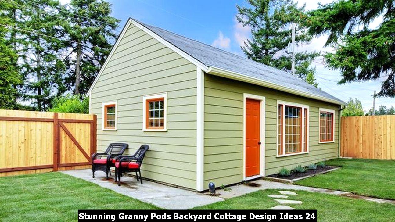 Stunning Granny Pods Backyard Cottage Design Ideas 24