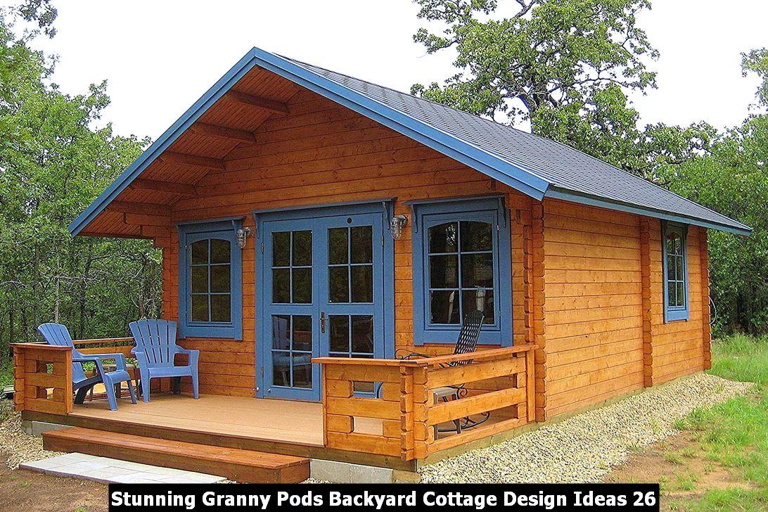Stunning Granny Pods Backyard Cottage Design Ideas 26