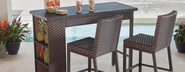 Bar Height Outdoor Table And Chairs