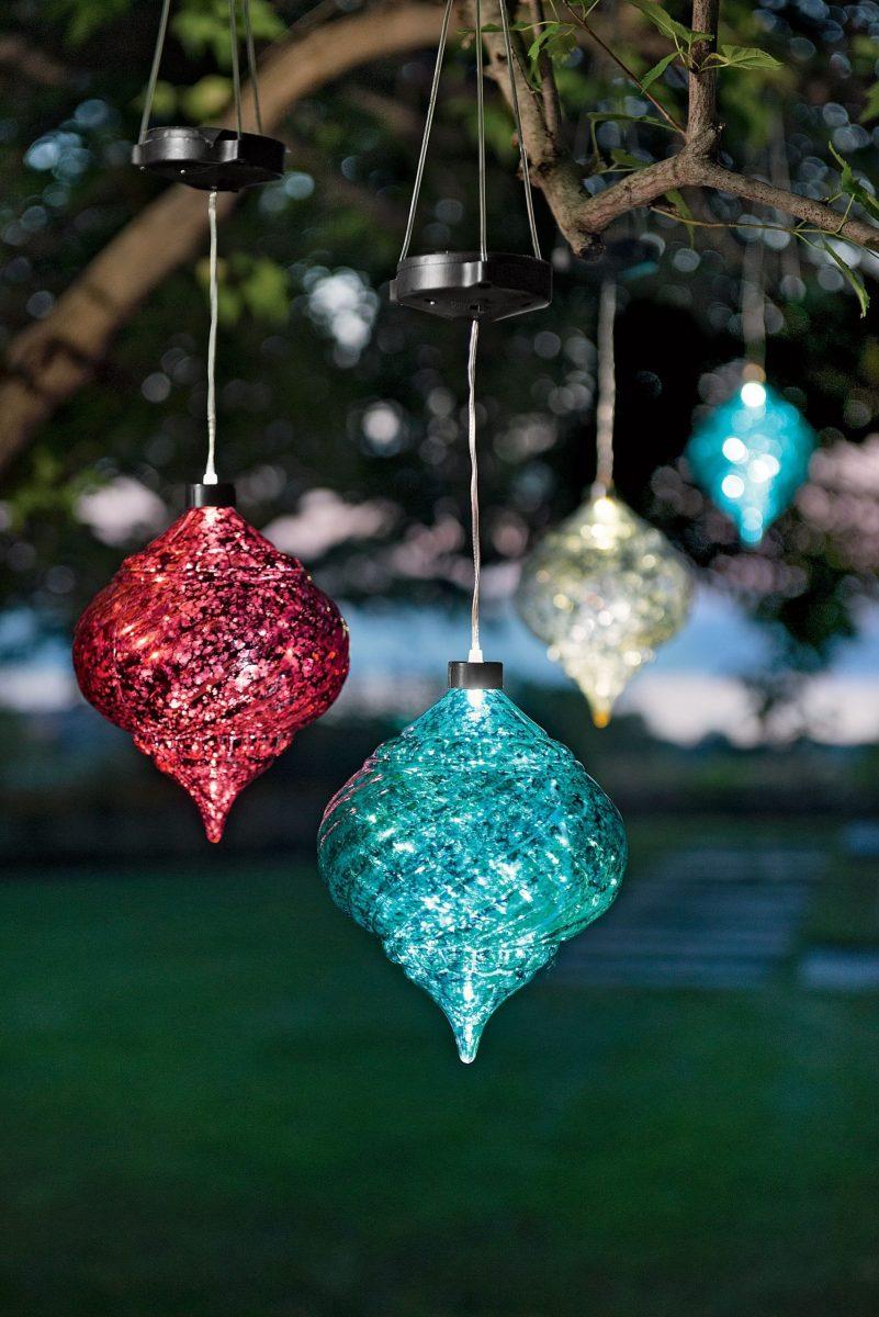 Solar Powered Christmas Decorations