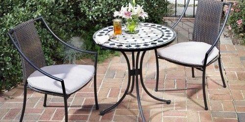 Outdoor Bistro Table Set
